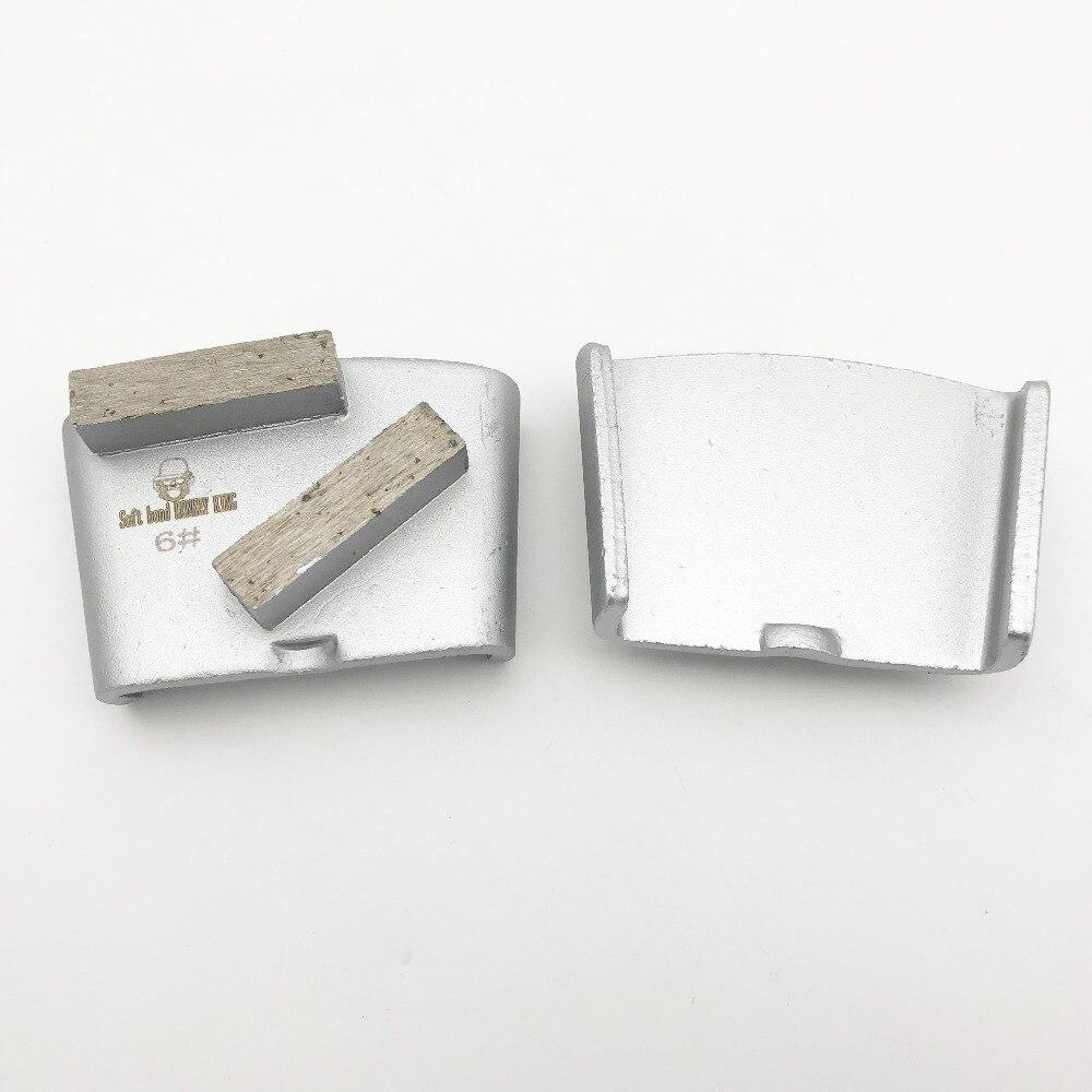 EZChange HTC slijpsegmentpad Metaal Diamant Beton Slijpschijf - Schurende gereedschappen - Foto 3
