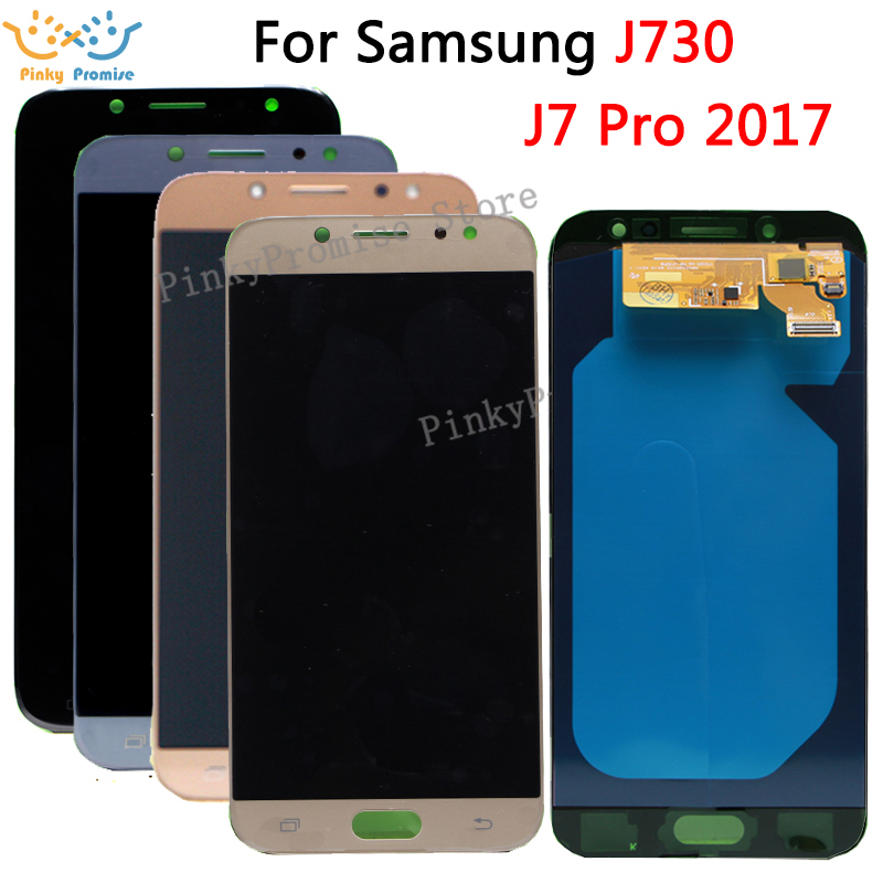 Super AMOLED For Samsung Galaxy J730 J7 Pro 2017 LCD