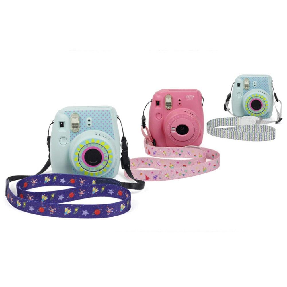 Image 5 - Камера 1,2 метра 47,2 дюйма милый ремешок на шею, через плечо ремень для камеры Instax Mini 9/Mini 25/Mini 70/Mini 90 розовый-in Ремешок для камеры from Бытовая электроника