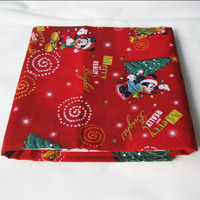 110 100cm 1 Meter 100 Cotton Fabric Tissus Telas Patchwork Fabric Printed Christmas Mickey Patchwork Of