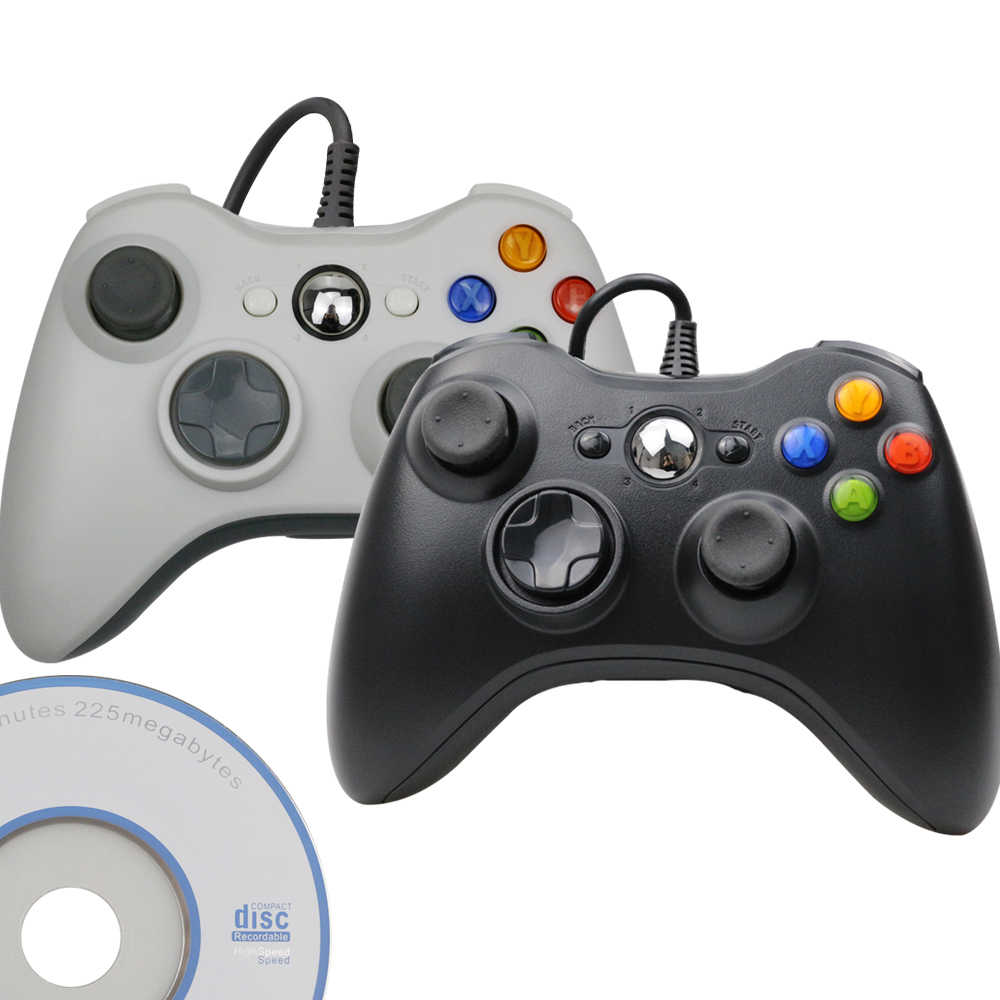 USB Wired Joypad Per Microsoft PC di Sistema di Finestre Gamepad Per PC Win 7/8/10 Joystick Non per Xbox 360 Joypad