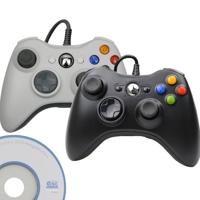 USB проводной контроллер Джойстик для Microsoft System PC джойстик для Windows для ПК Win 7 / 8/10 джойстик не для Xbox 360 джойстик