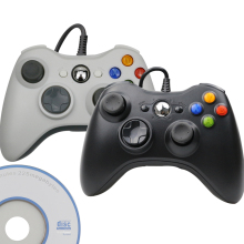 USB Wired Controller Joypad For Microsoft System PC Windows Gamepad For PC Win 7 / 8/10 Joystick Not for Xbox 360 Joypad цена