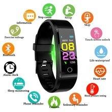 Новые смарт-часы для мужчин и женщин монитор сердечного ритма кровяное давление фитнес-трекер Смарт-часы спортивные часы для ios android + коробка