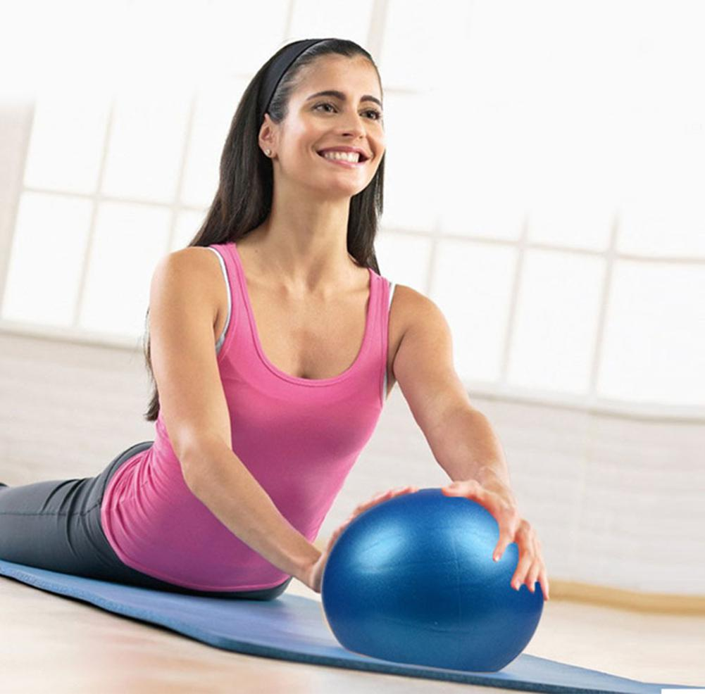Yoga Explosion-proof PVC Wheat Ball Small Pilates Yoga Ball Fitness Ball Straw Square Dance Ball