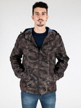 Windbreaker camouflage hoodie