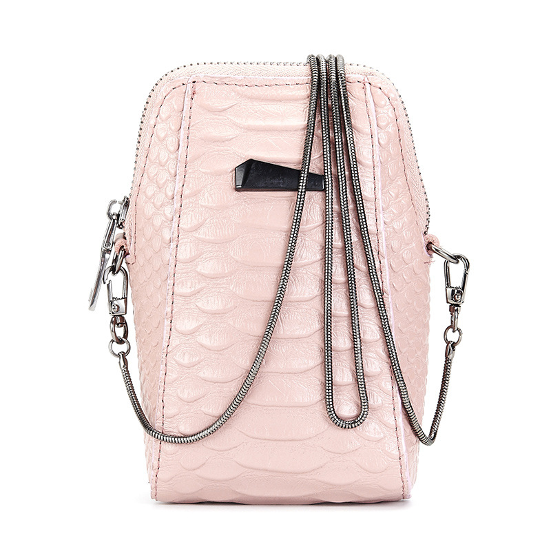 YUFANG Women Messenger Bag Fashion Mini Phone Bag Genuine Leather Ladies  Daily Shoulder Bag Alligator Style Crossbody Bag Female-in Top-Handle Bags  from ... 72af76e90643f