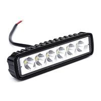 New 18W 12V LED Work Light Bar Spotlight Flood Lamp Driving Fog Offroad LED Work Car