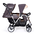 The twin baby stroller child cart artifact children umbrella car can sit and lie portable folding bike