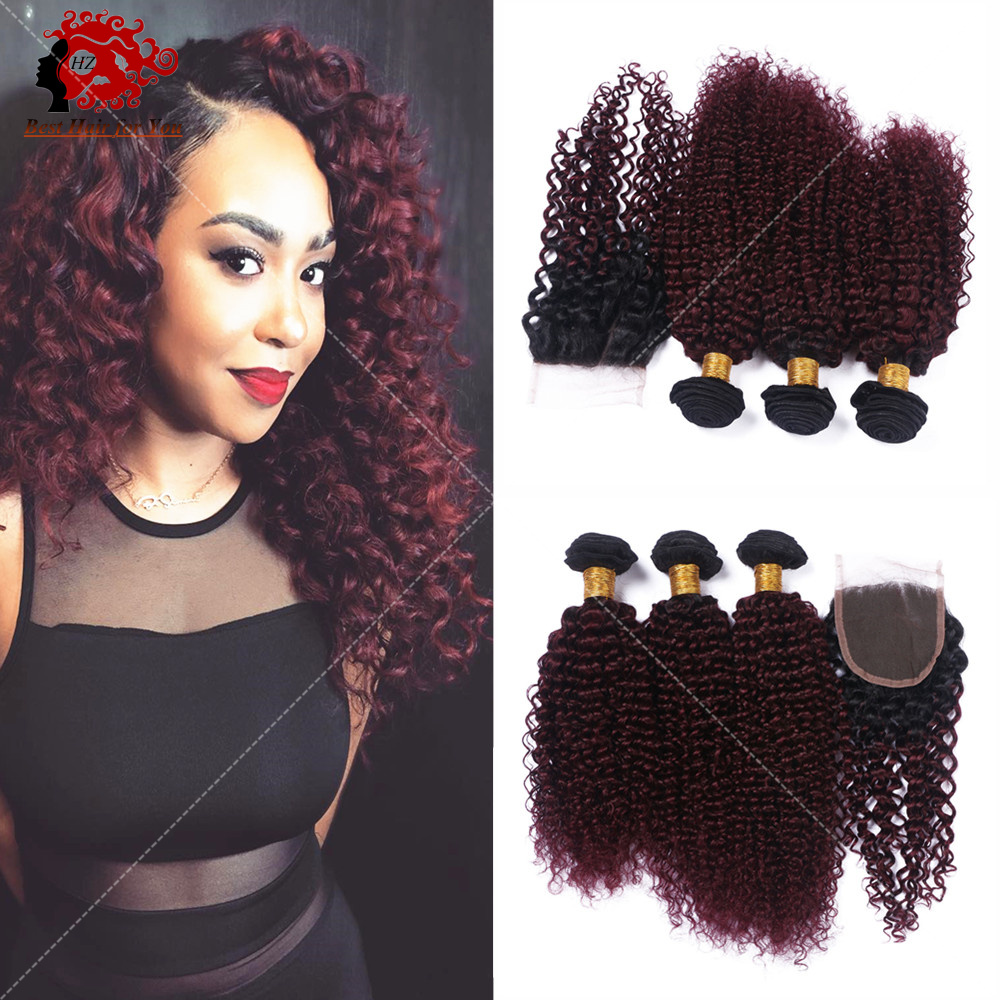 two tone brazilian weave hair kinky