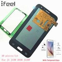 IFEEL 10 pieces/lot For Samsung Galaxy J1 J120 2016 J120F J120A J120H J120M New LCD Display Touch Screen Digitizer Super AMOLED