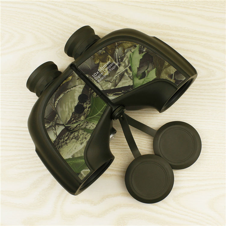 Professional Waterproof High Power font b Binoculars b font 10X50 Fogproof Camouflage Optics font b Binocular