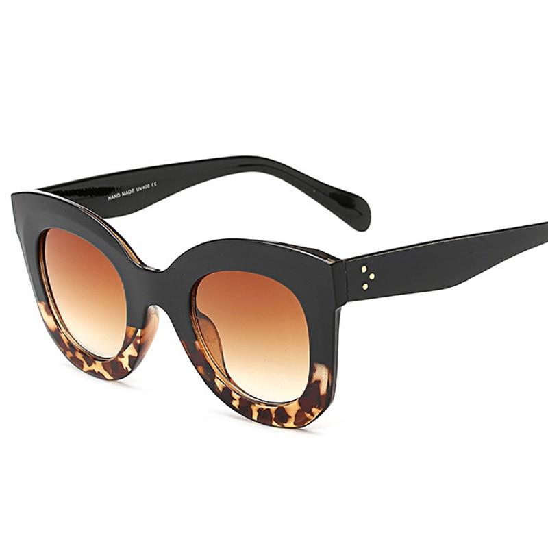 Qigge Nueva Moda Cat Eye Mujeres Gafas de Sol Mujeres Diseñador de - Accesorios para la ropa - foto 5