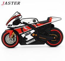 JASTER Original motorcycle USB Flash Drive Model moto USB 2.0 Flash Memory card Pen Drive 4GB 8GB 16GB 32GB memory stick