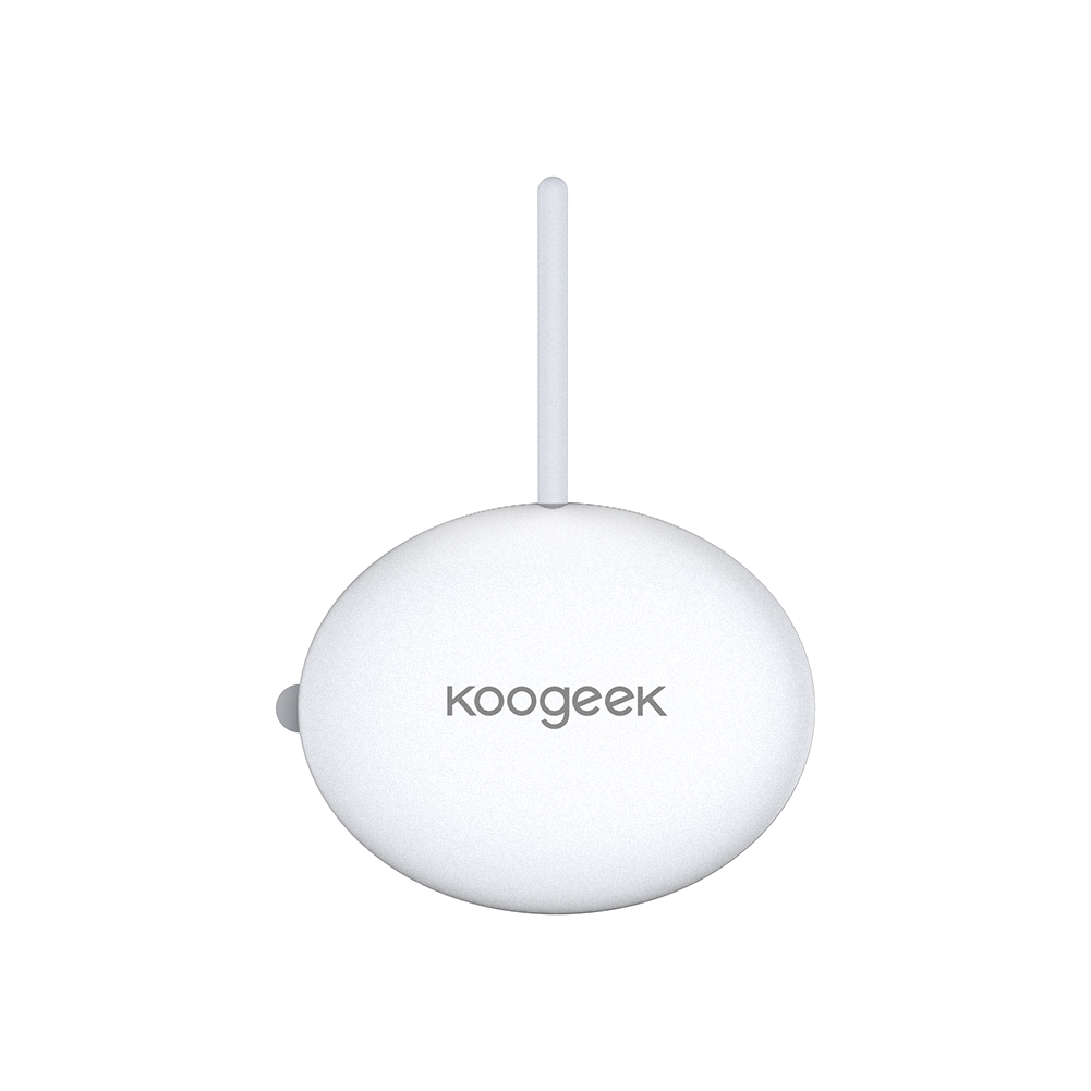 Koogeek Wearable Smart Baby Thermometer Accurate 24-hour Continuous Monitoring for baby Infant Toddlers Kids Adult Thermometers