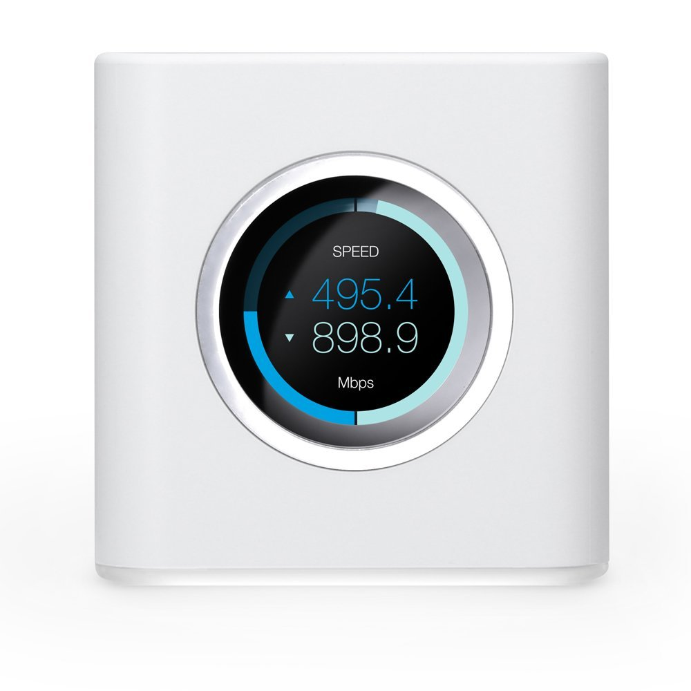 UBNT AmpliFi HD WiFi Router by Ubiquiti Labs, Home Wireless Internet Coverage, HD WiFi Router with Touchscreen Display