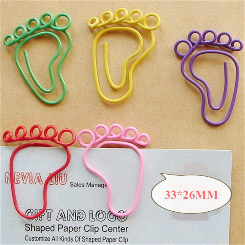 Foot Paper Clips [ 100 Piece Lot ] 5