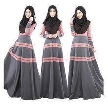 4c6d074bc6eb5 2019 العباءة المرأة مسلم أزياء فساتين السيدات طويلة الحجاب اللباس رداء الإسلامية  الملابس امرأة Kafter الملابس
