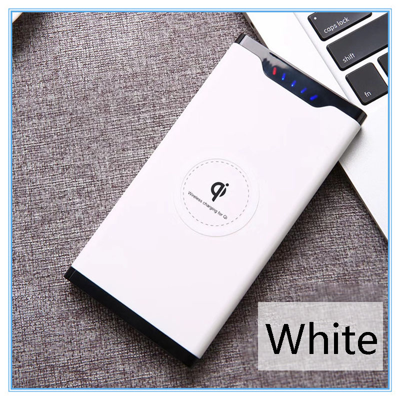 2019 Qi Wireless Charger 10000mAh Portable USB Power Bank Wireless Charging  for iPhone X 8 Plus Samsung Note 8 S8 PowerBank 2019 Qi Wireless Charger 10000mAh Portable USB Power Bank Wireless Charging  for iPhone X 8 Plus Samsung Note 8 S8 PowerBank