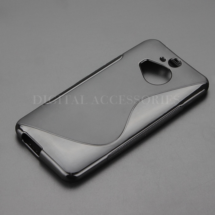 7 Color S Line Gel TPU Slim Soft Anti Skiding Case Back Cover For HTC One M9 Plus M9+ Mobile Phone Rubber silicone Bag Cases