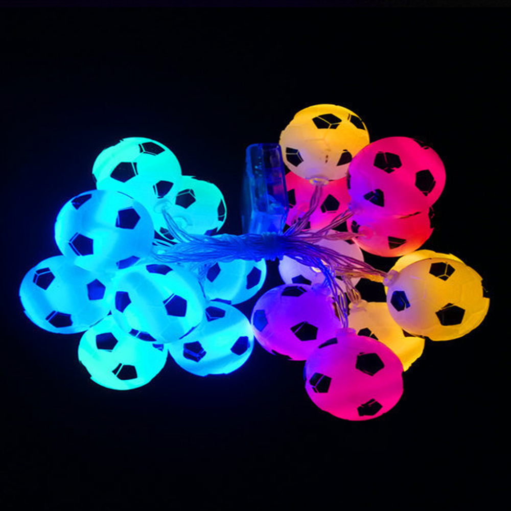 10LED Football Lights Lamp Beads Atmosphere To Create Lighting DIY Party Decoration Dropship Soccer Accessories Christmas Gift