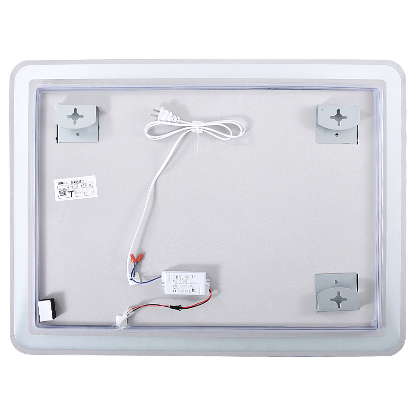 Glamo LED Mirro CTL305 Wall-mounted Led Bathroom Mirror Intelligent HD Bath Mirror Explosion proof Anti-fog Mirror White/Warm light 110V/220V 3