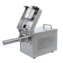 Stainless steel cold press oil extraction machine, heat seeds oil press machine, almond nut oil extractor, automatic oil presser