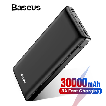 Baseus 30000mAh Power Bank For iPhone Samsung Xiaomi Powerbank USB C PD Fast Charging External Battery Pack USB Charger Bank lukmall iphone case