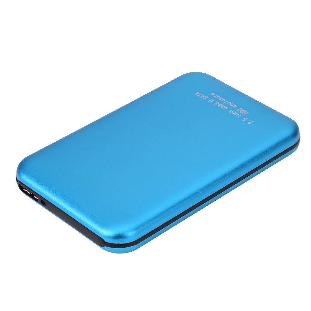 Super Speed 2.5 Inch Aluminium USB 3.0 to SATA External HDD HD Hard Disk Drive Enclosure Case Cover Box Bag