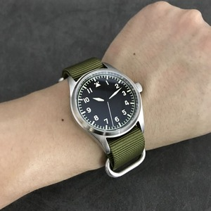 Image 5 - 산 마틴 패션 여성 남성 파일럿 시계 스테인레스 스틸 시계 200m 방수 자동 운동 손목 시계 사파이어 39mm