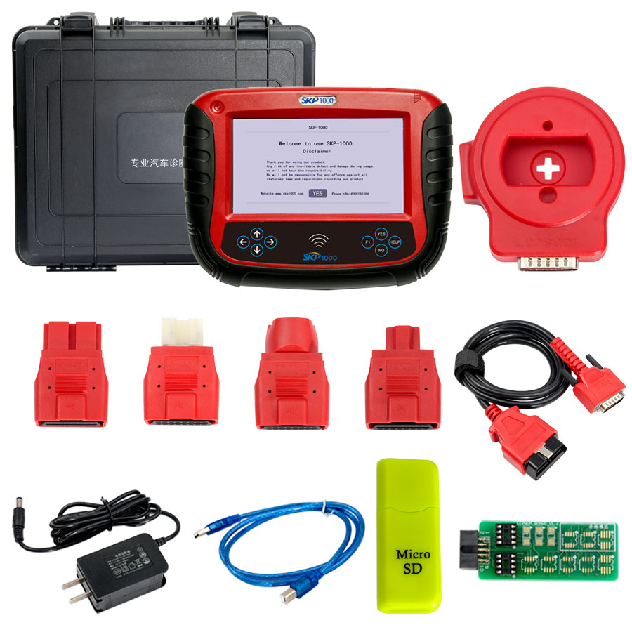 Skp 1000 SKP1000 Tablet Auto Key Programmer A Must Tool for All Locksmiths Perfectly Replaces CI600 Plus and SKP900 оборудование для электро системы авто и мото superobd skp 900 obd2 auto superobd skp900 obd2