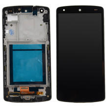 LCD Display Touch Screen Digitizer + Frame For LG Google Nexus 5 D820 D821 VA414 T18 0.4