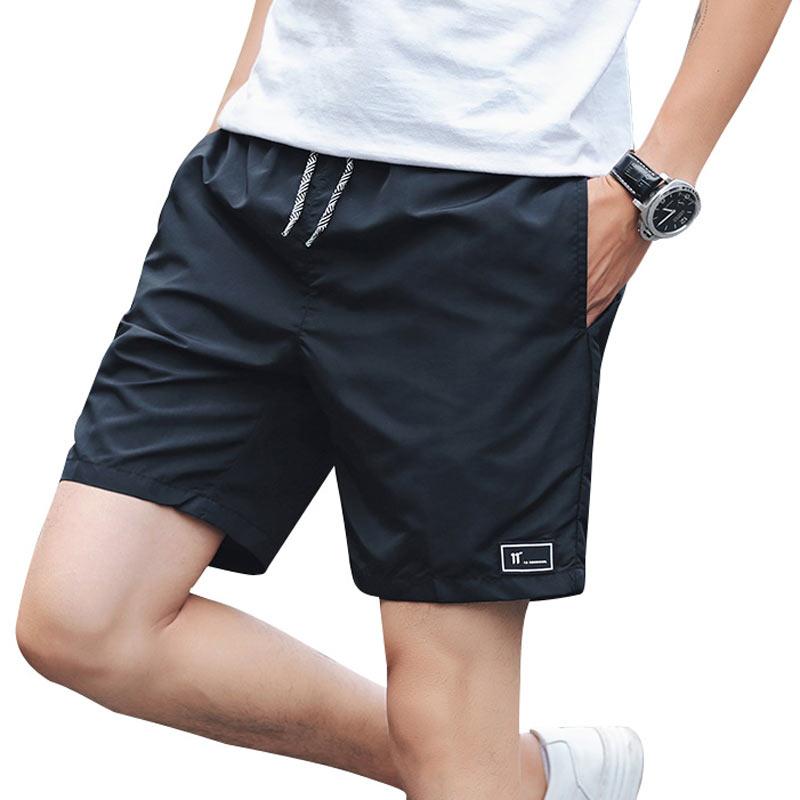 2018 Vendite Calde Summer Beach Shorts per Uomo Casual da Uomo Jogger Homme Colori Solidi Outwear Maschile Pantaloncini Tronco Degli Uomini Più Il Formato M-5XL