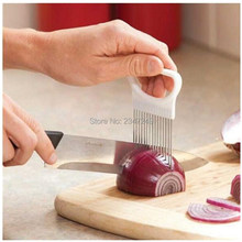 Kitchen Cooking Tool Onion Tomato Vegetable Slicer Cutting Aid Guide Holder Fruit Slicing Cutter Gadget kitchen accessories