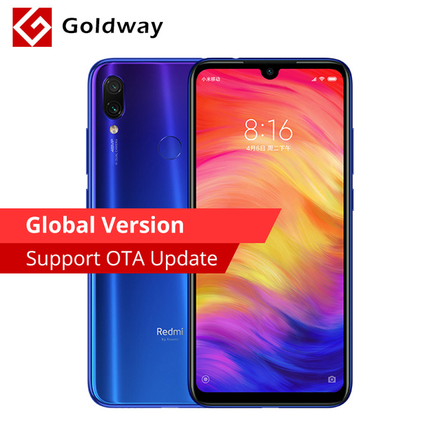 "Global Version Original Xiaomi Redmi Note 7 3GB 32GB Smartphone Snapdragon 660 Octa Core 6.3"" FHD+ 48MP+5MP Dual Camera 4000mAh"