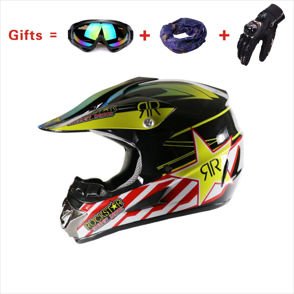 Motorcycle-Helmet Approve Protection Universal Off-Road Women DOT And Four-Seasons High-Quality