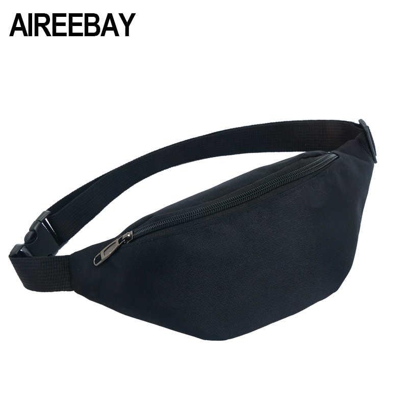 3b5b5ff3556 AIREEBAY Waist Packs Women Men Fanny Pack Belt Bag Phone Pouch Bags ...