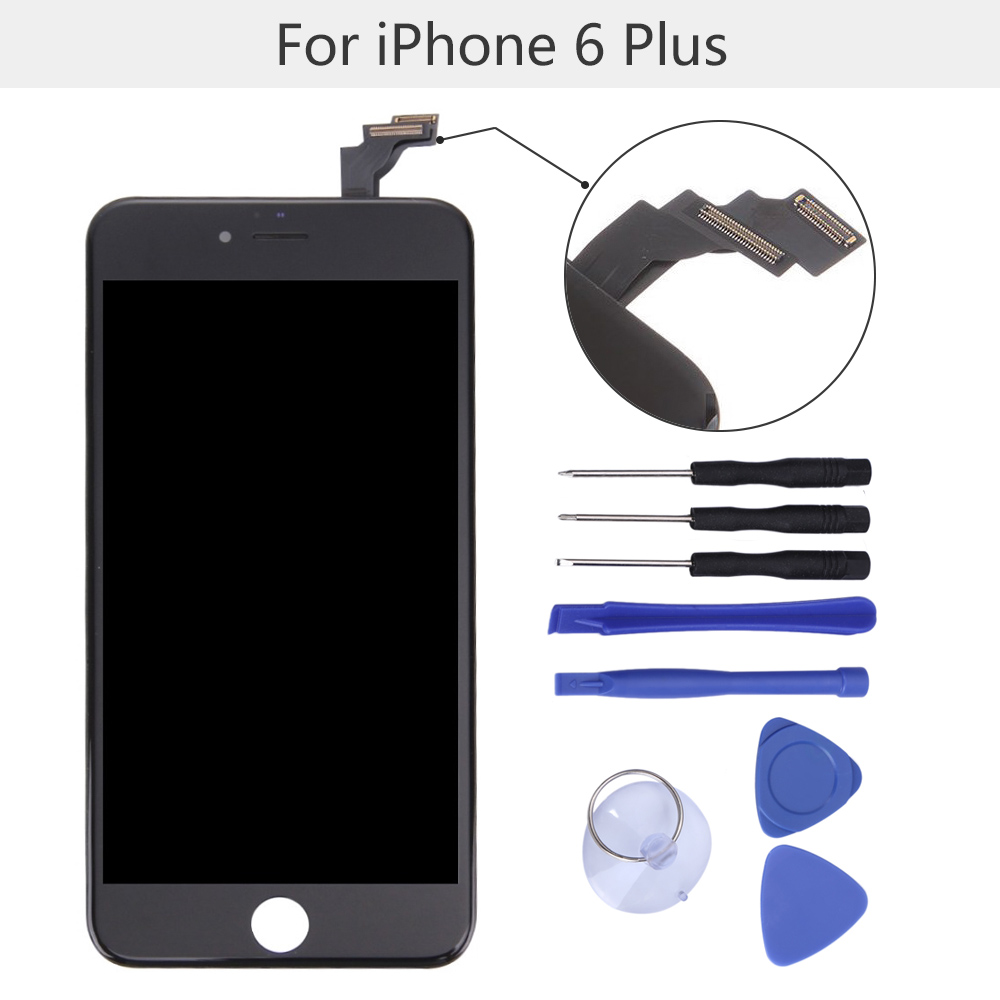 imágenes para SZKOSTON Original LCD Para iPhone 6 Más 6 Pantalla LCD de Repuesto de Pantalla Táctil Digitalizador Asamblea con Kits de Herramientas
