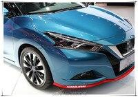 Car styling 2.5 m Rubber Front bumper lip Side Skirt Body Kit Trim For Opel Astra G/GTC/J/H Corsa Antara Meriva Zafira Insignia