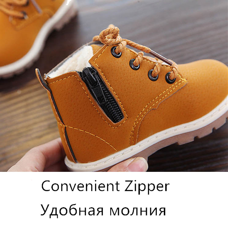 Kids-Martin-Boots-Girls-Shoes-Rubber-Sole-Fashion-Cow-Muscle-Anti-slip-Children-Shoes-Lace-Up-Zip-Spring-Ankle-Black-Boys-Boots-2