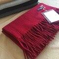 Echarpe Estudios de la Marca de Lujo de Invierno Mantener Caliente Bufanda de Cachemir Hombres de Las Mujeres de Pashmina Borlas de la Wraps Bufandas Mujeres Bufanda Mejor Calidad