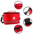 Nylon vermelho Impressionante Cruz Símbolo de Alta-density Ripstop Sports Camping Casa Médica Kit de Primeiros Socorros Saco de Sobrevivência de Emergência Ao Ar Livre