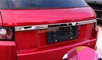 1 STKS ABS Chrome Kofferbak Staart Lift Gate Deksel Cover Trim voor Range Rover Evoque 2011 12 13 14 15 2016