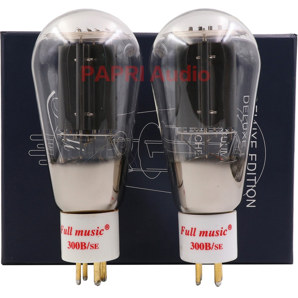 2PCS TJ Fullmusic Vacuum Tube 300B/SE GOLD Plated Pin Replace PSVANE Shuguang JJ Etc Other Brands 300B Vacuum Tube резак other brands sg 860 860mm