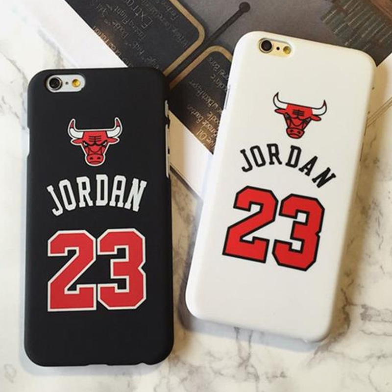 Jordan 23 Basketball Sports Matte Case for Coque iPhone X 6 6s 7 8 Plus 6 s 6Plus 7Plus 8Plus sup Cover Capinha Michael BULL ...