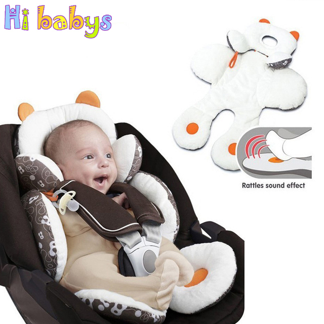 Coton bébé poussette doublure siège coussin doux infantile épais landau coussin bébé chaise voiture siège tapis bébé poussette coussin accessoires