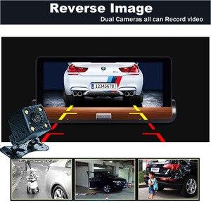 Image 5 - XST caméra DVR Full HD 5.0 P, dashcam, 7 pouces, IPS, Wifi 3G, Android 1080, Navigation GPS, enregistreur vidéo, Bluetooth, double objectif