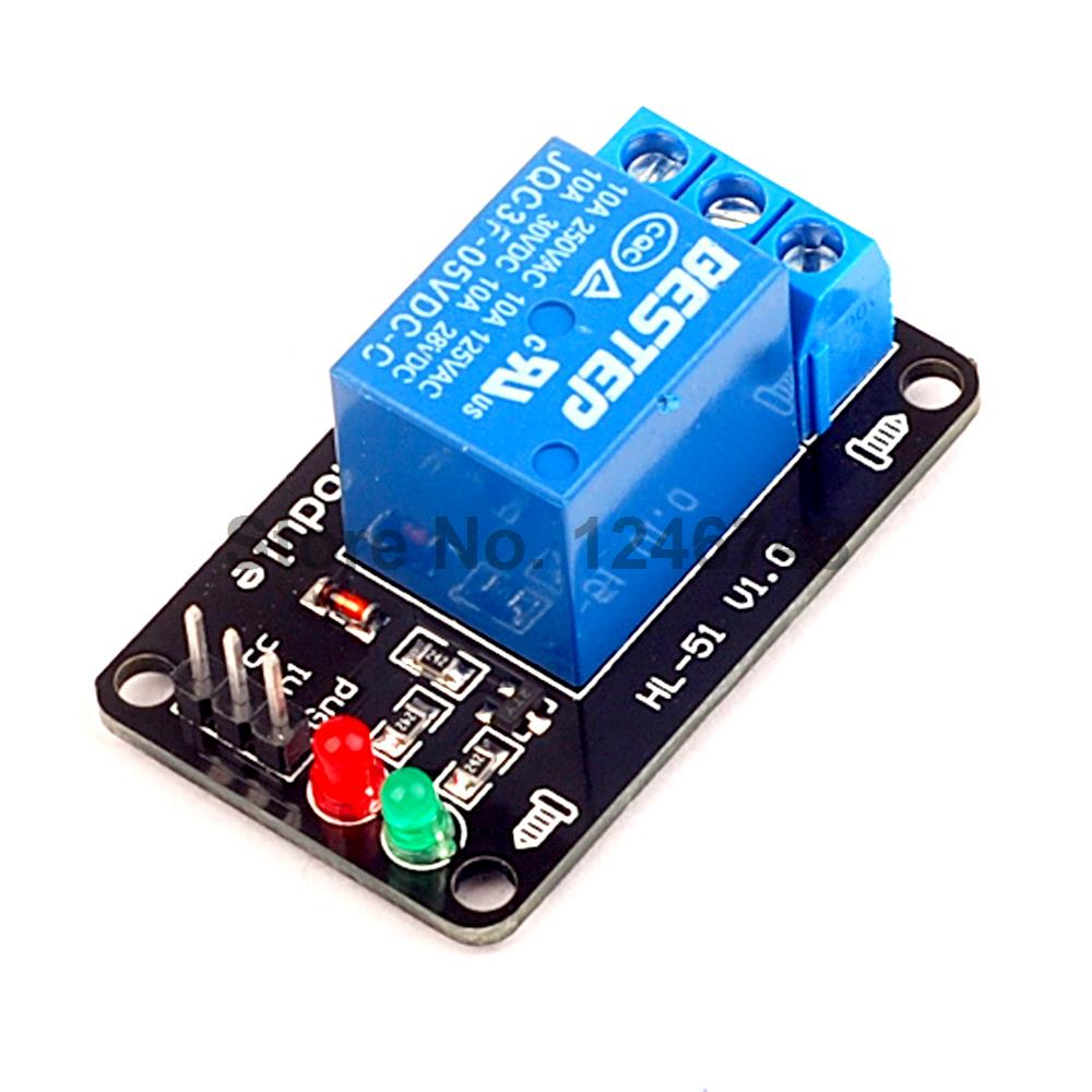 1PCS/LOT 1 Channel 5V Relay Module For Arduino PIC AVR DSP ARM