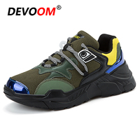 Fashion Men Casual Shoes Mocassin Leather+Mesh Shoes 2018 Autumn Trend Comfort Footwear Canvas Shoes For Men Sneakers Big Size