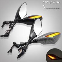 Motorcycle Rearview Mirrors With Turn Signal LED Light For Yamaha XMAX T MAX TMAX 530 TMAX530 TMAX 500 XMAX 125 250 300 400 цена в Москве и Питере